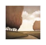 Forest Road II Giclee Print by Taman Van Scoy