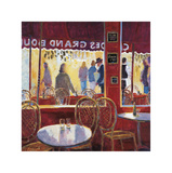 Interior Rojo en Paris Giclee Print by Manel Doblas