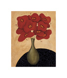 Bouquet Rouge Giclee Print by Jocelyne Anderson-Tapp