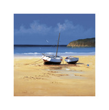 Moorings Low Tide Giclee Print by David Short