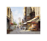 Marche Parisien Giclee Print by George W. Bates