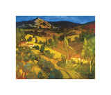 Provencal Landscape Giclee Print by Philip Craig