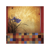 Iris Quilt Giclee Print by Don Li-Leger