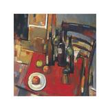 Vin Rouge Reproduction procédé giclée par Jay Li
