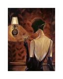 Madamoiselle Giclée-tryk af Trish Biddle