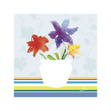 Spring Stripes II Giclee Print by Karen Lorena Parker