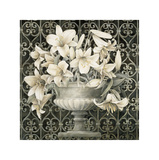 Lilies in Urn Giclee Print by Linda Thompson