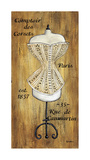 Corset I Giclee Print by Krista Sewell