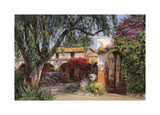 Capistrano Sunlight Giclee Print by George W. Bates