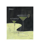 Apple Martini Giclee Print by Mark Pulliam