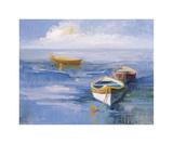 Resting Boats Giclee Print by Casey McNamara