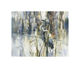 Gardien de l'étang Impression giclée par Brent Heighton