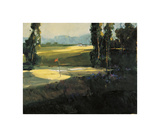 The 1st Tee Giclee Print by Ted Goerschner
