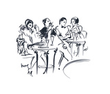 Celebration IV Giclee Print by Mona Shafer Edwards