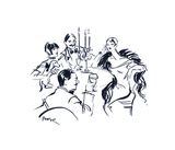 Celebration III Giclee Print by Mona Shafer Edwards