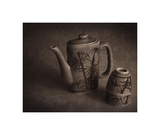 Teapot and Cups Giclee-trykk av Heather Jacks