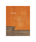 Orange Martini Giclee Print by Mark Pulliam