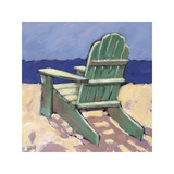 Green Chair Giclee Print by Rebecca Molayem