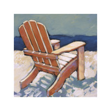 Orange Chair Giclee Print by Rebecca Molayem
