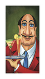 Sirio the Waiter Giclee Print by Will Rafuse