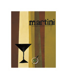 Groovy Martini I Giclee Print by Celeste Peters