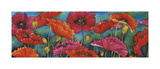 Poppy Parade Giclee Print by Helen Downing-Hunter
