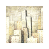 Urban Monograph I Giclee Print by Marcus Collins