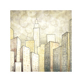 Urban Monograph II Giclee Print by Marcus Collins
