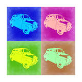 Fiat 500 Pop Art 2 Posters by  NaxArt