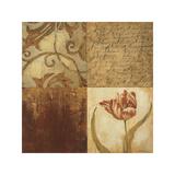 Tulip Manuscripts II Giclee Print by Elizabeth Jardine