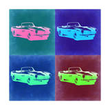 BMW 507 Pop Art 2 Posters by  NaxArt