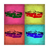 BMW 507 Pop Art 1 Prints by  NaxArt