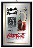 Coca-Cola 5 Cent Mirror Wall Mirror