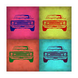 Chevy Camaro Pop Art 1 Prints by  NaxArt
