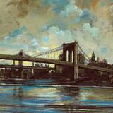 Brooklyn Bridge No.1 Poster