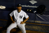 Sep 26, 2013 - New York, NY: Tampa Bay Rays v New York Yankees - Mariano Rivera Photographic Print by  Elsa