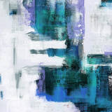 Blue Abstract II Poster