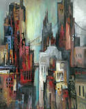 City Colours I Print