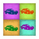 Porsche Pop Art 1 Kunstdruck von  NaxArt
