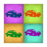 Porsche Pop Art 1 Print by  NaxArt