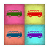 VW Bus Pop Art 1 Prints by  NaxArt