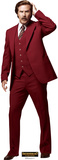 Anchorman 2: The Legend Continues - Ron Burgundy Lifesize Standup Cardboard Cutouts