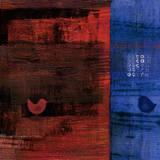 Red Bird Blue I Art