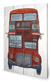 Barry Goodman - Routemaster Wood Sign Placa de madeira