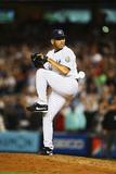 Sep 26, 2013 - New York, NY: Tampa Bay Rays v New York Yankees - Mariano Rivera Photographic Print by Al Bello