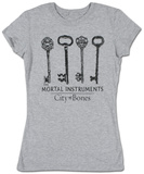 Juniors: The Mortal Instruments - Keys T-shirts