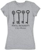 Women's: The Mortal Instruments - Keys T-シャツ