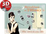 Breakfast at Tiffany's Blue Magnetic Board Peltikyltit