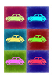 VW Beetle Pop Art 2 Prints by  NaxArt