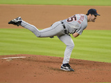 Sep 29, 2013 - Miami, FL: Detroit Tigers v Miami Marlins - Pitcher Justin Verlander Photographic Print by Jason Arnold